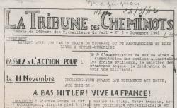"""Accéder à la page """"Tribune des cheminots (La) [zone sud]"""""""