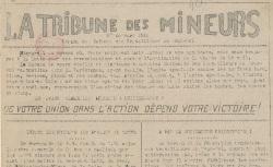 """Accéder à la page """"Tribune des mineurs (La) [Gard]"""""""