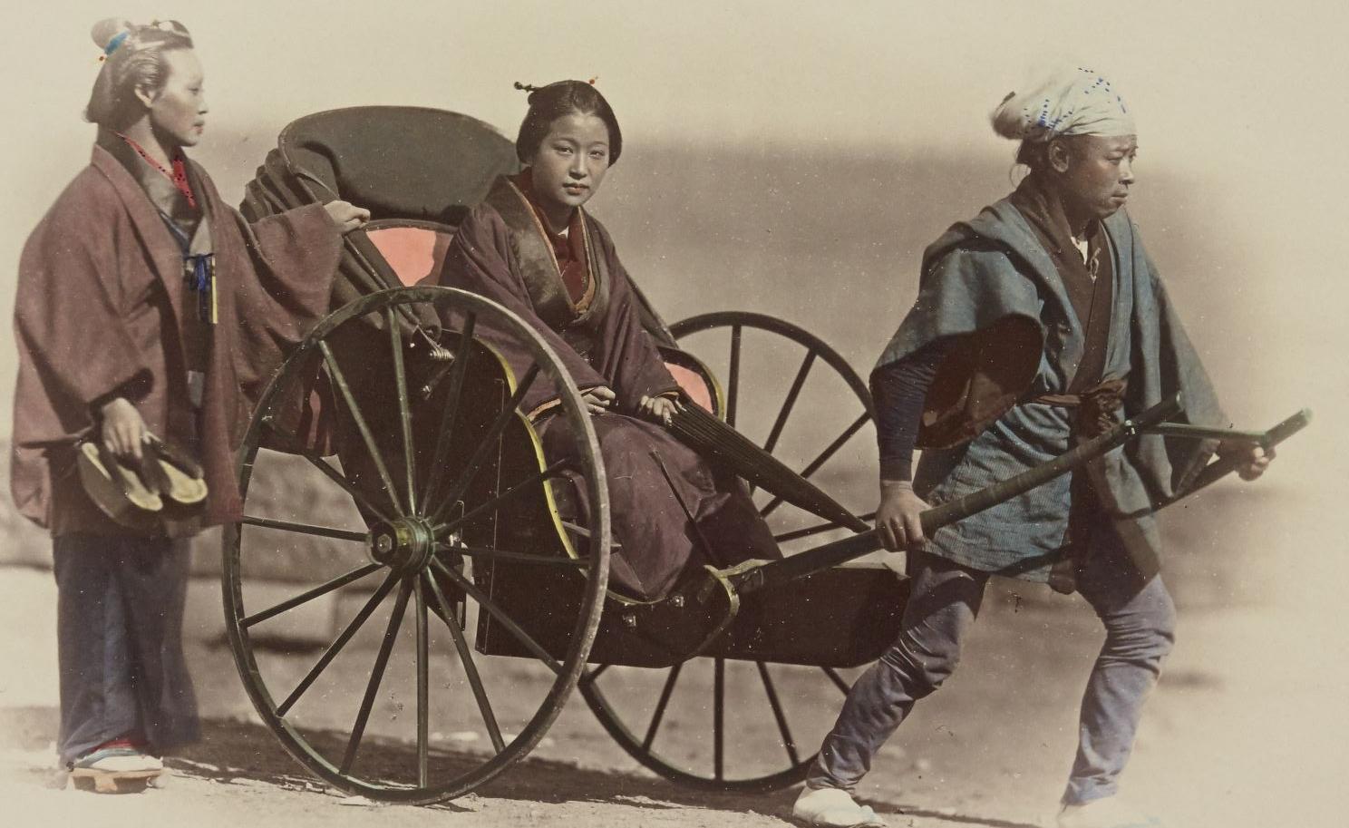 Felice Beato, photographe. Japonais / [réalisé par Stillfried & Andersen] ; [d'après des négatifs de Raimund von Stillfried, Felice Beato et autres photographes.1877-1878.