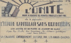 """Accéder à la page """"Unité (L') (Prison Saint-Paul, Lyon)"""""""