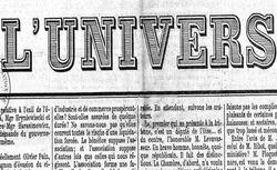 """Accéder à la page """"Univers (L') (1867)"""""""