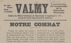 """Accéder à la page """"Valmy, supplément à"""