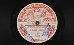 Il Vascello fantasma. Sinfonia. Parte I / Wagner, comp. ; Musica della R. Marina Italiana ; Cav. Seba Matacena, dir. - source : gallica.bnf.fr / BnF