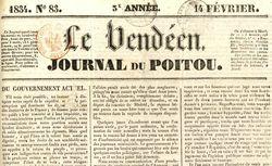 """Accéder à la page """"Vendéen (Le)"""""""