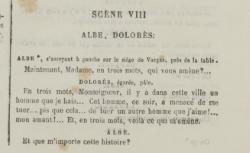 [Image] Scène 8, acte III [Patrie ! de Victorien Sardou : documents iconographiques] 1869 - source : gallica.bnf.fr / BnF