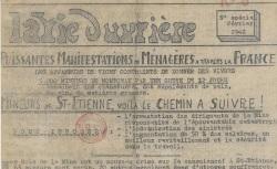 """Accéder à la page """"Vie ouvrière (La) (édition centrale pour la zone sud)"""""""