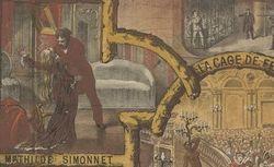 Théâtre de la Porte St Martin... Les Etrangleurs de Paris. Drame populaire à grand spectacle en 5 actes et 12 tableaux de Mr. A.Belot (1880)
