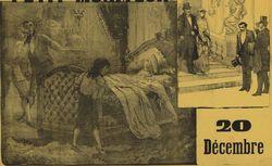Le Petit moniteur ... Les Cravattes blanches par Adolphe Belot... : [affiche]