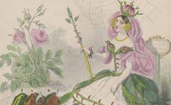 Les fleurs animées. Tome 1 / par J.-J. Grandville ; texte par Alph. Karr, Taxile