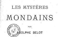 mystères mondains