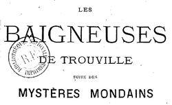 Les Baigneuses de Trouville
