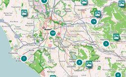 """Accéder à la page """"Le voyage en Italie cartographié par les internautes"""""""
