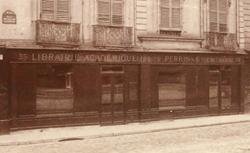 Hôtel des Didot, imprimeurs. Atget, 1900