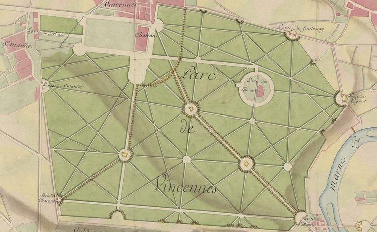 """Accéder à la page """"Bois de Vincennes"""""""