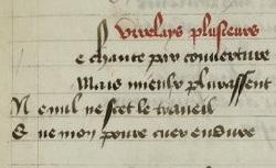 Figure de l'humanisme français: Christine de Pizan a rédigé des poèmes, des traités philosophiques, politiques, et militaires  Virelay_fr.604