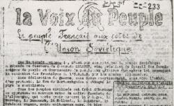 """Accéder à la page """"Voix du peuple (La) (Puy-de-Dôme)"""""""