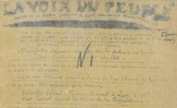"""Accéder à la page """"Voix du peuple (La) (Lyon)"""""""