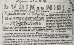"""Accéder à la page """"Voix du Midi (La) (Toulouse)"""""""