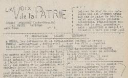 """Accéder à la page """"Voix de la patrie (La) (Aude - Hérault)"""""""