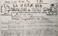 """Accéder à la page """"Voix des travailleurs du textile (La) (Savoie)"""""""