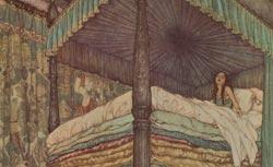 La Reine des neiges et quelques autres contes, Hans Christian Andersen, illustrés par Edmond Dulac