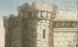 Vue perspective de la porte St Antoine et de la Bastille