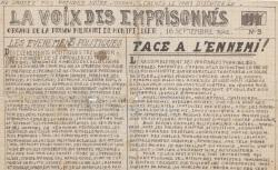 """Accéder à la page """"Voix des emprisonnés (La) (Montpellier)"""""""