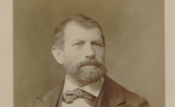 Jean-Baptiste Weckerlin, photographie de Pierre Petit - source : gallica.bnf.fr / BnF