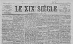 """Accéder à la page """"XIXe siècle (Le)"""""""