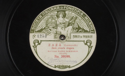 """Zazà : """"Zazà piccola zingara"""" ; Ruggero Leoncavallo, comp. ; Mario Sammarco, baryton ; acc. au piano - source : gallica.bnf.fr / BnF"""