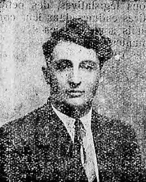 Un fonctionnaire pour Dole : René Lopin, instituteur à Dole [candidat communiste aux élections législatives de 1936]. Image publiée à Dole le 28 décembre 1935 dans le journal : Le Front comtois