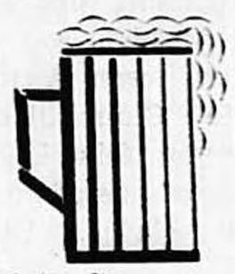 Taverne alsacienne, place de la Paix [place Franklin Roosevelt], bei der Post. Erschti elsässischi Wirtschaft in Périgueux. Image publiée à Périgueux le 15/16 juin 1940 dans le journal : La Presse libre = Freie Presse : hebdomadaire socialiste (SFIO) du Bas-Rhin, de la Dordogne, de la Haute-Vienne et de l'Indre