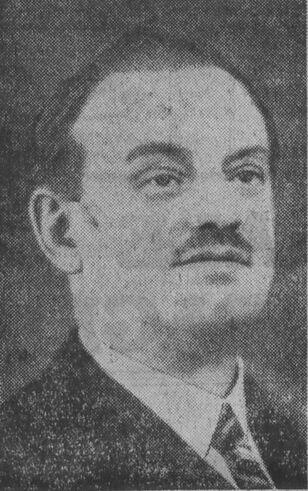 Docteur Marcombes. Image publiée à Clermont-Ferrand en juillet/août 1935 dans le journal : Le Combattant du Puy-de-Dôme