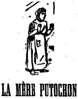 La Mère Putochon. Image publiée à Rochefort le 26 juillet/2 août 1903 dans le journal : Le Rigolo