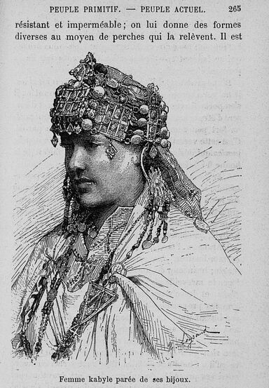 Illustration issue de L'Algérie, Ferdinand Quesnoy, 1885