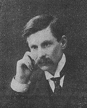 François Albert, auteur de l'article : Clemenceau vendéen. Image publiée à Niort et Paris en novembre 1919 dans le journal : Le Pays d'Ouest