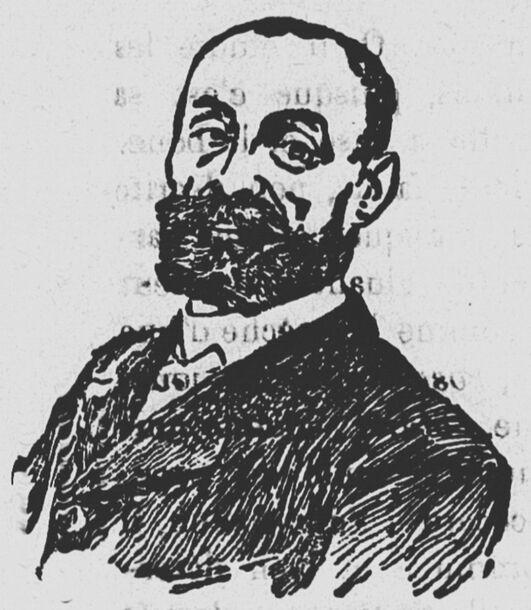 Marcelin Albert. Image publiée à Argelliers le 4 août 1907 dans le journal : Le Tocsin : organe de la lutte viticole