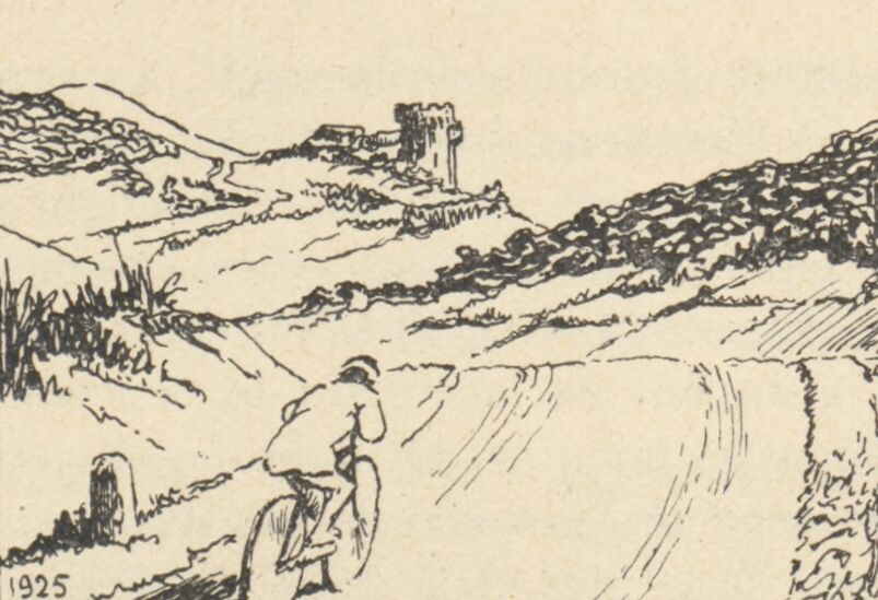 Par monts et par vaux de la Maulde à la Creuse. Image publiée à Limoges le 25 mars 1927 dans le journal : La Vie limousine