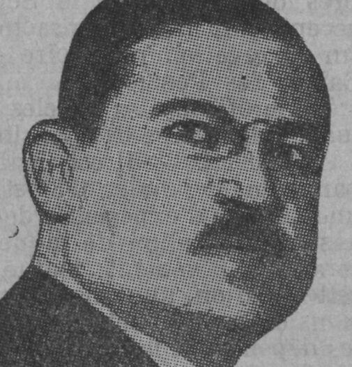 René Besse. Image publiée à Auch en février 1937 dans le journal : Le Combattant du Gers