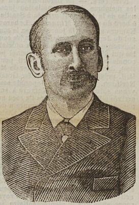 M. Godefroy-Cavaignac, député, ancien ministre. Image publiée à La Rochelle le 23 juillet 1905 dans le journal : La Démocratie de La Rochelle