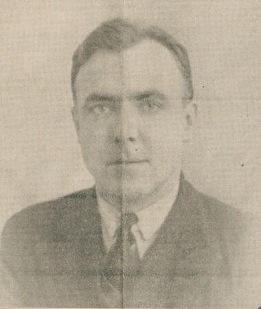 Henri Jacob, directeur politique du Semeur, candidat du rayon [communiste] à Belfort, 1re [circonscription]. Image publiée à Belfort le 30 avril 1932 dans le journal : Le Semeur
