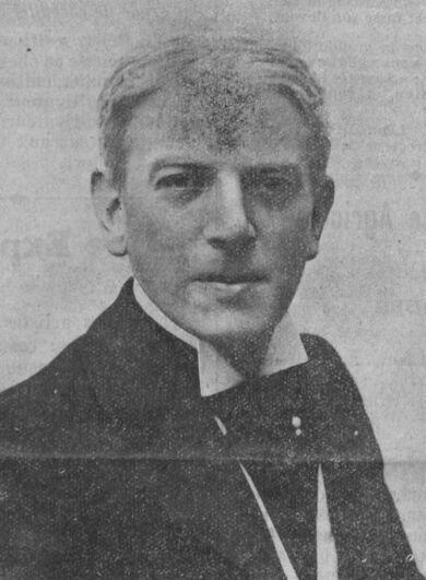 Émile Duard. Image publiée à Paris le 22 février 1914 dans le journal : La Franche-Comté à Paris
