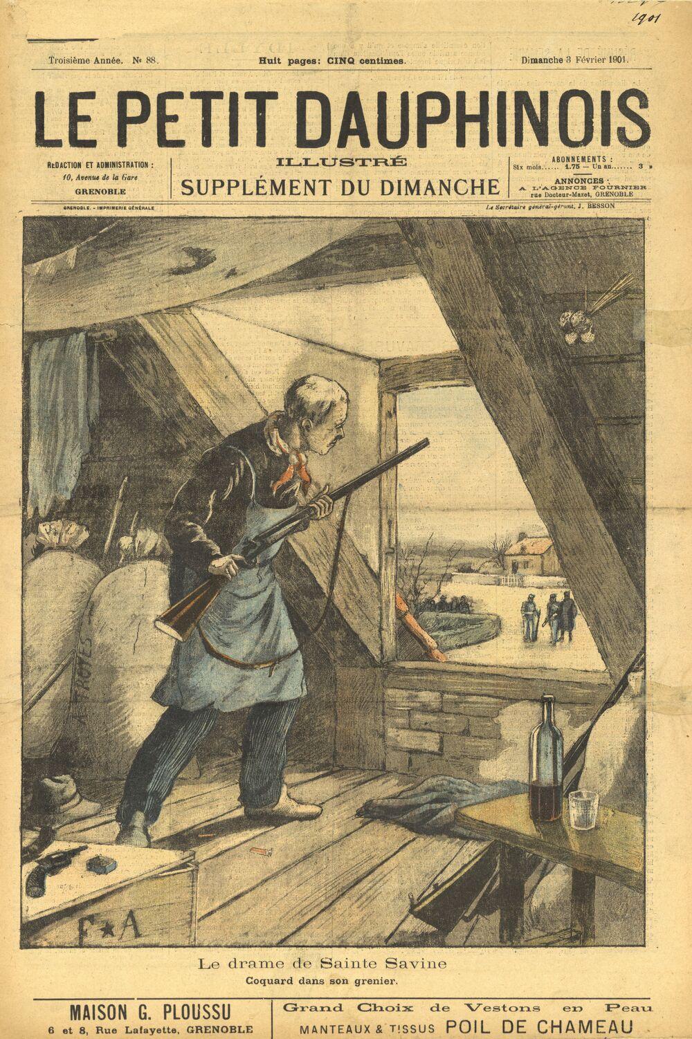 Le Petit Dauphinois illustré : supplément du dimanche