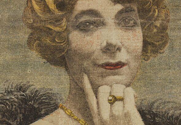 Mademoiselle Fernande Segret, la dernière fiancée du Barbe-bleue de Gambais [Landru]. Image publiée à Toulouse le 5 février 1922 dans le journal : La Dépêche. Supplément illustré