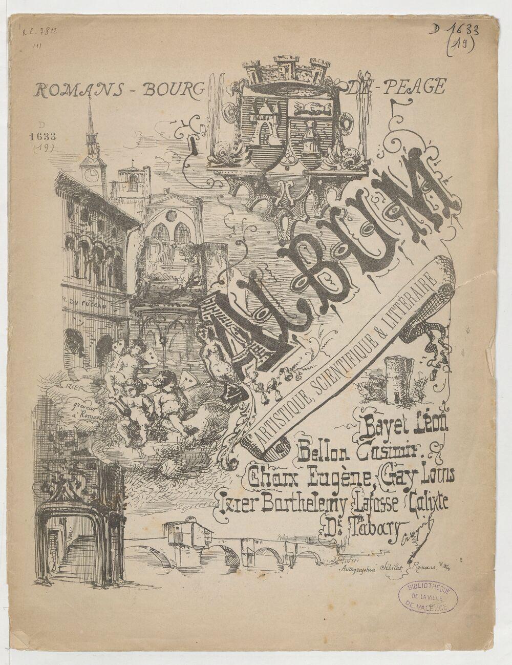 Album artistique, scientifique & littéraire / Bayet Léon, Bellon Casimir, Chaix Eugène, [et al.]