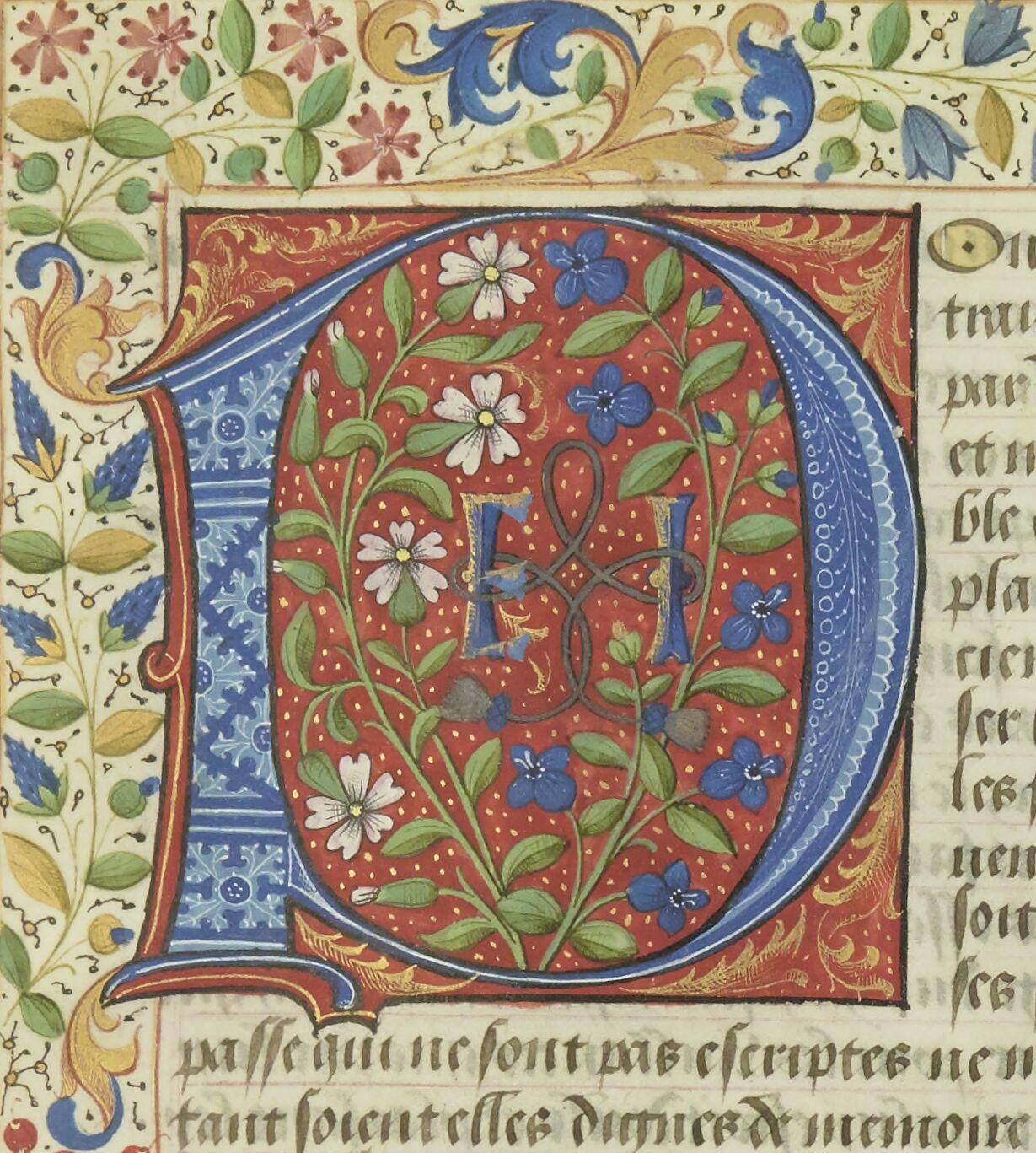 L'Abusé en cour, attribué au roi René d'Anjou, etc.