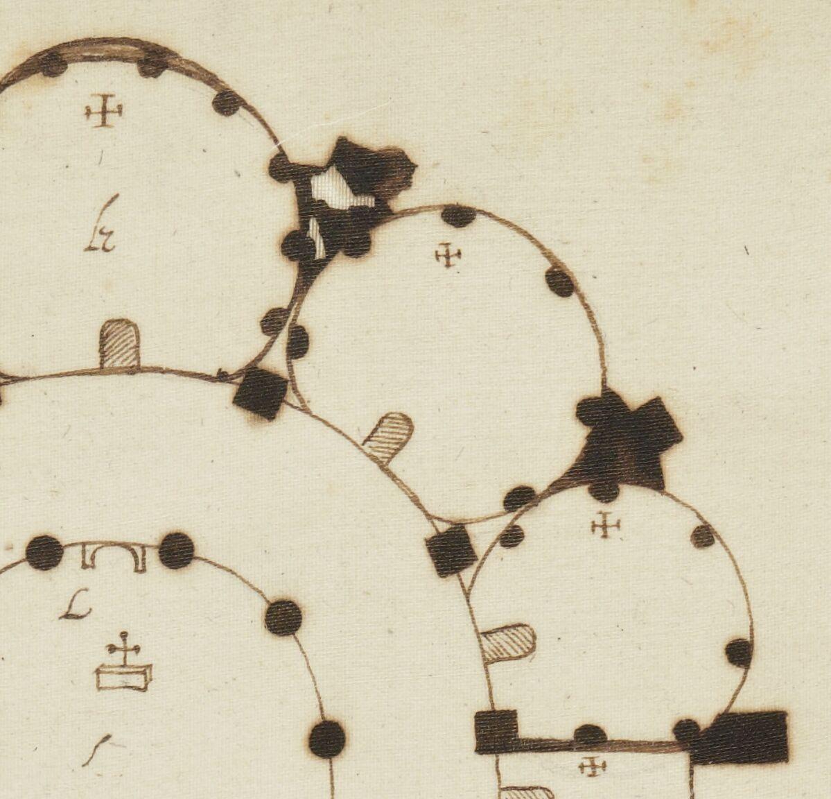« Recherches de plusieurs singularités, par Françoys MERLIN, controlleur général de la maison de feu madame Marie-Élizabeth, fille unique de feu roy Charles dernier,... portraictes et escrites par Jacques Cellier, demourant à Reims. » (4583-1587).