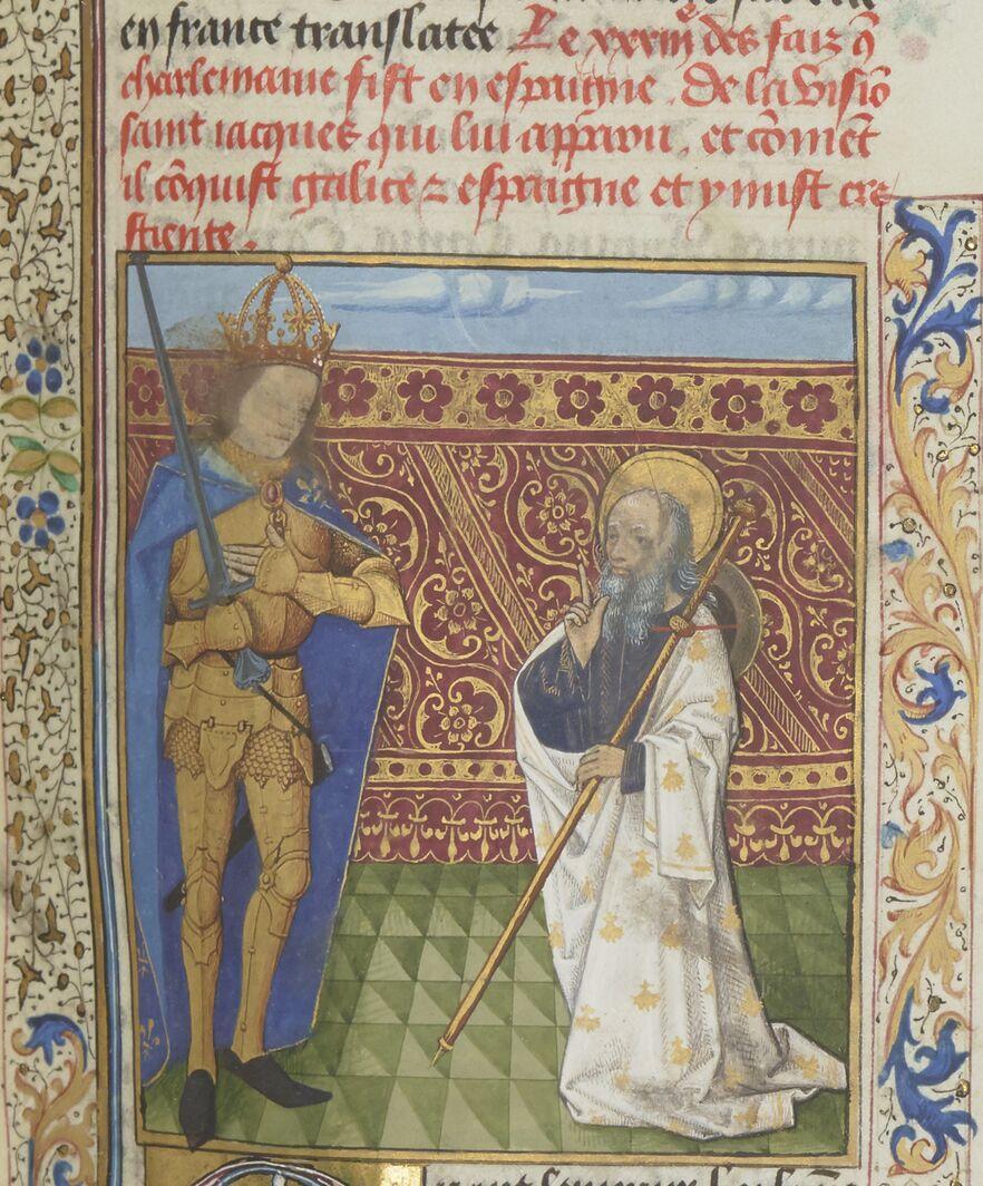 Charlemagne: La vision de St. Jacques