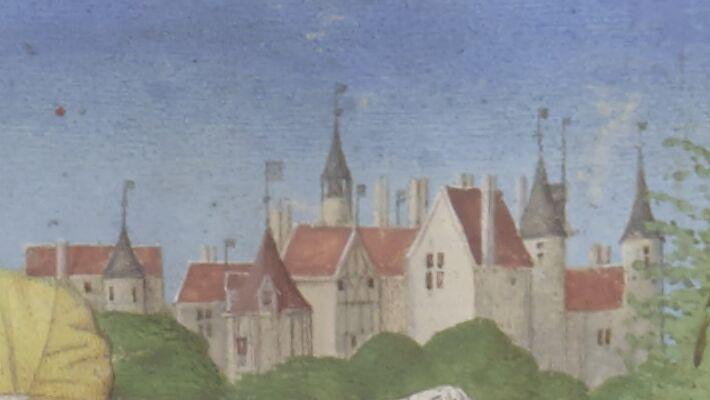 Étienne Chevalier cityscape