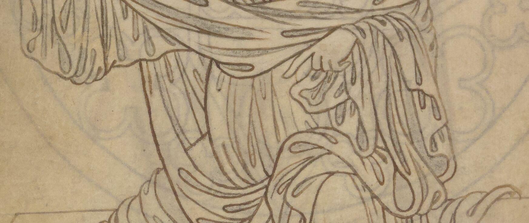 Villard's drapery